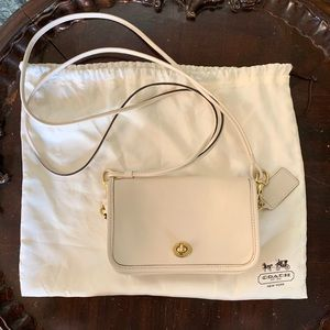 Coach evening bag with duster. New without tags.